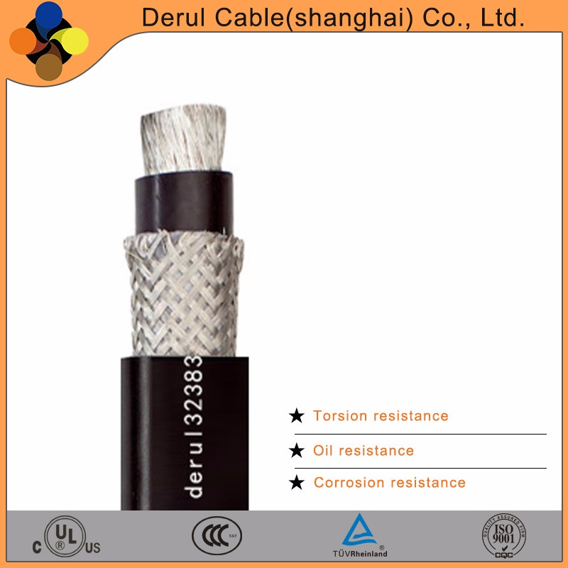 Wind power ultilization used power cable