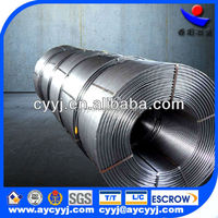 high quality low price calcium silicon cored wire alloy