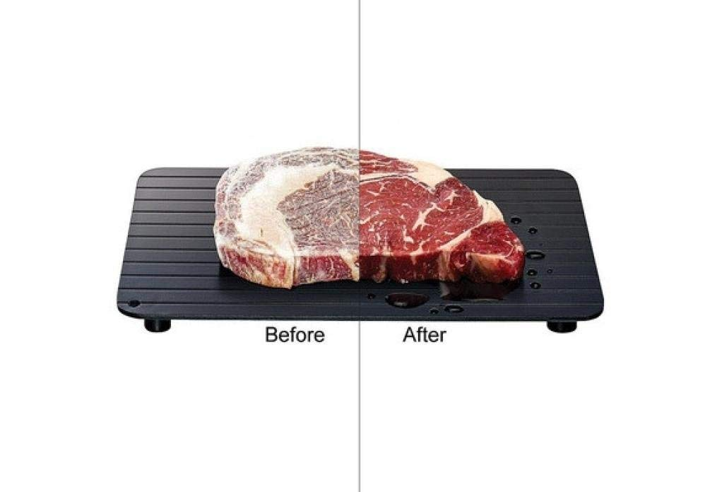 Defrosting Tray Emubody Hot Fast Defrosting Tray Kitchen The Safest Way to Defrost Meat or Frozen Food