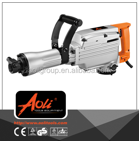AL-65a electric hammer air compressor with chicago electric jack hammer