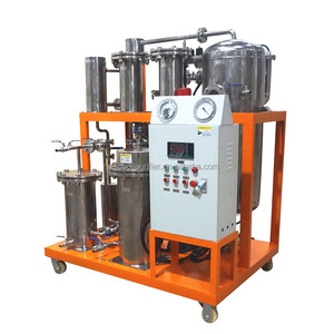 Sunflower Oil Olive Oil Vacuum Purification Machine to Dehydrate Degas and Remove Oxides and Peroxide