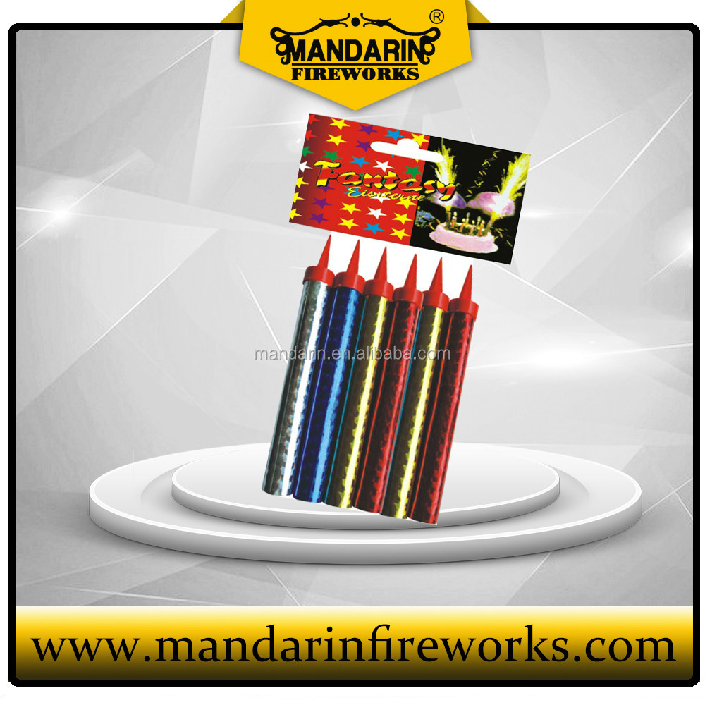 Color package ice fountain wholesale,Chinese firecrackers and fireworks, birthday cake roman candles for good quality