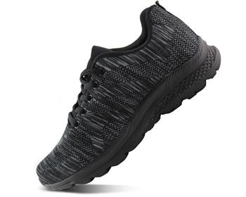 women's breathable knit sports running shoes casual