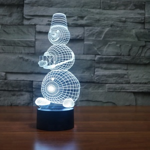 USB charging Acrylic Led Night Light Effect 3d Custom Lava Lamp