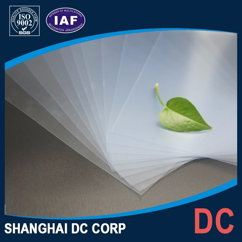 High Quality Transparent Inkjet Printable Plactis Cards PVC Sheet