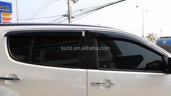 Exterior Accessories Door Guard For Mux 2014 Car Sun Visor Window ...