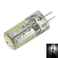 Bright LED Corn Bulb Lamp Light G4 4W 57LED 3014SMD Durable White AC/DC 12-24V