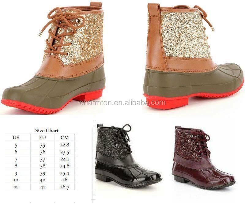 e0598865867e Wholesale Women's Stormie Glitter Duck Boots - Buy Glitter Duck Boots  Product on Alibaba.com