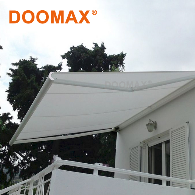 Terrace Aluminum Motor Polyester Retractable Awnings