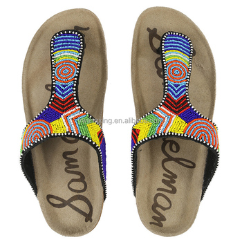 b85cca7015c19 MONICA fashion beaded shoe decorations accessory to African women shoes  African sandals