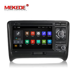 Android 7.1 Car DVD Player For A UDI TT 2006-2012 Car radio GPS navigation car stereo headunit tape recorder 2G WIFI function