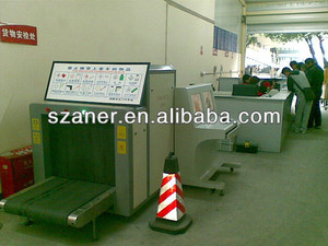Conveyor Max Load X Ray Baggage Scanner Inspection System For Airports K10080