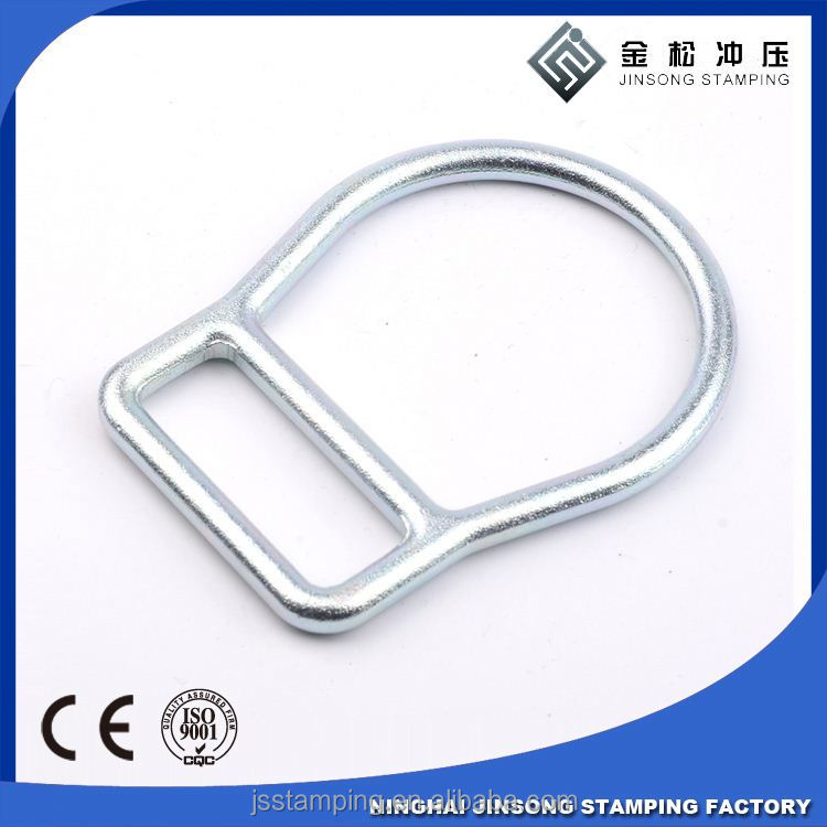 China Market Metal Fashion Stainless Steel D Rings webbing ring