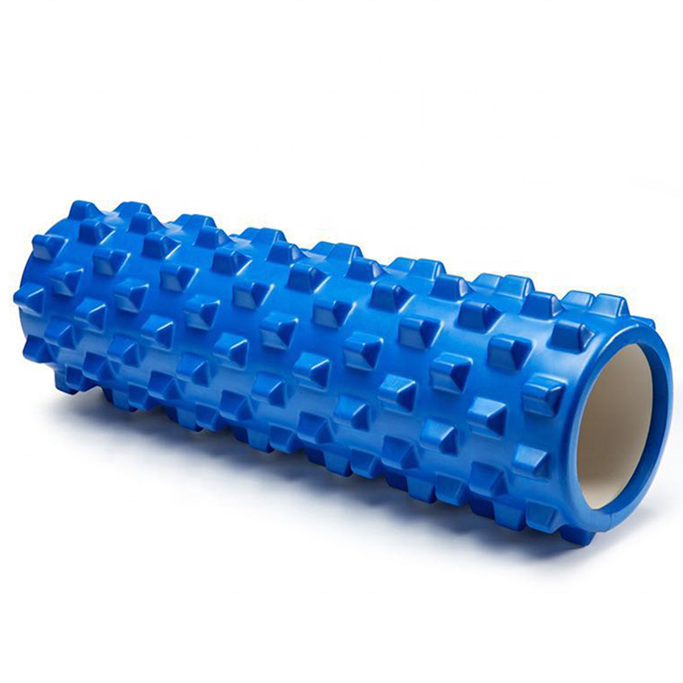 MOWIN Amazon color body muscle massage fitness exercise EVA & PVC new foam yoga roller 2019 high quality for pilates