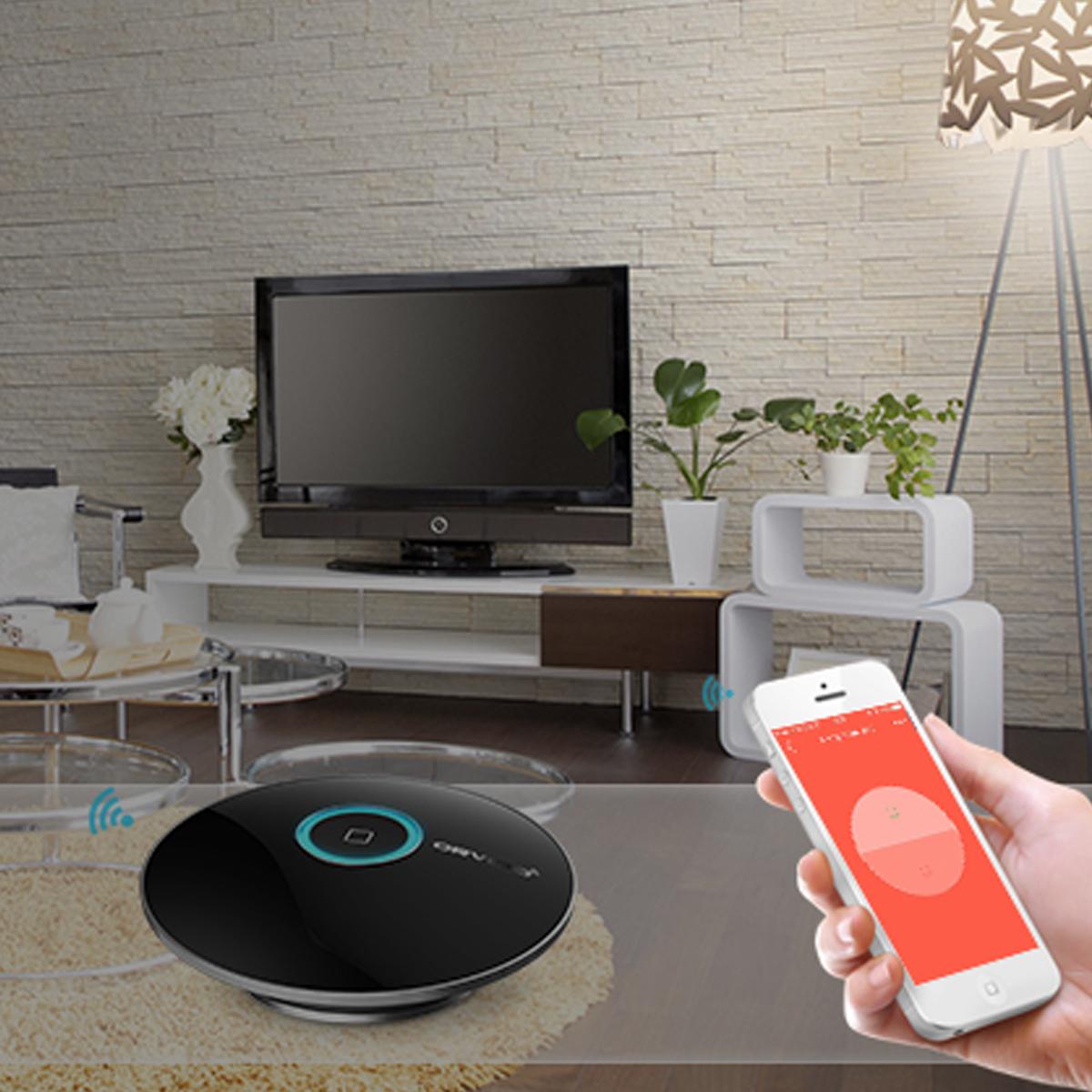 wifi internet ir rf smart home handy fernbedienung schalter orvibo allone schwarz ah004 in high. Black Bedroom Furniture Sets. Home Design Ideas