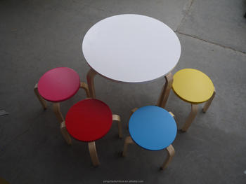 Cool Bentwood Children Round Table With Stool Buy Birch Wooden Round Table With Stool Birch Wood Children Table Small Round Table Product On Alibaba Com Machost Co Dining Chair Design Ideas Machostcouk