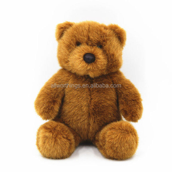 DongGuan toy factory custom cuddly cute brown plush teddy bear for gift