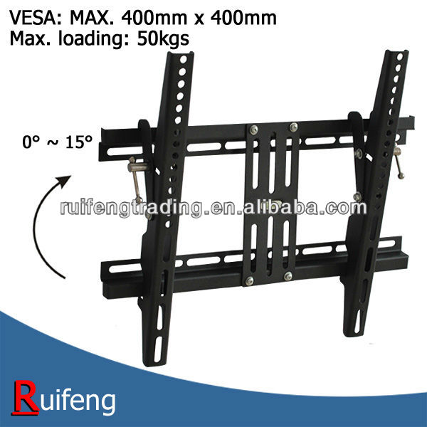 Vesa 400 x 400 mm Tilt TV Mount