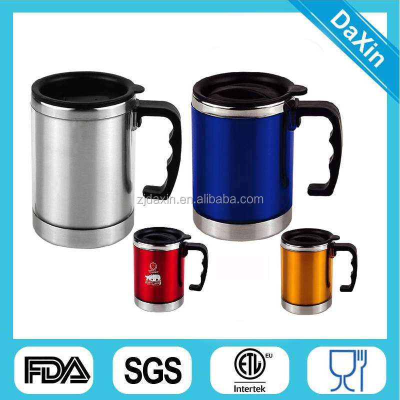 Hot new products for 2015 stainless steel travel mug/coffee travel mug/promotion office desk mug