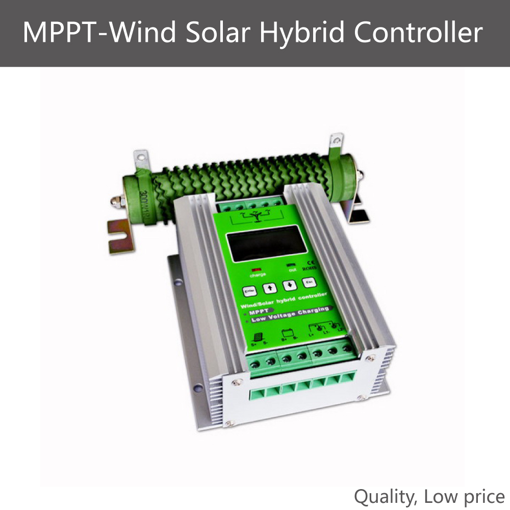 wind solar hybrid <strong>charge</strong> <strong>controller</strong> 300w 400w 500w 600w MPPT pv wind hybrid <strong>controller</strong>