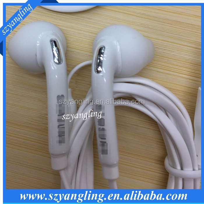 2017 New arrival Factory detail price in-ear mobile phone earphone shenzhen wired headset with 3.5mm connectors