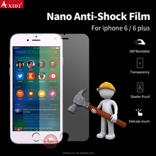 Factory Direct Soft Nano Screen Protector Anti Shock Film For iPhone 6 6 Plus