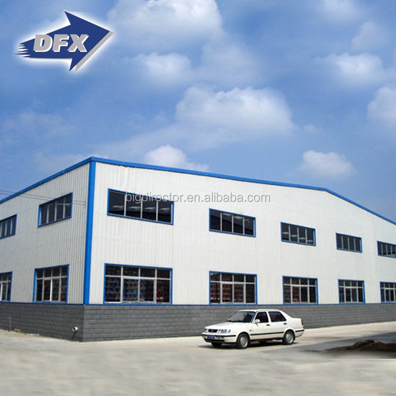 1000 m2 Chinese Pre Engineering Auto Part Warehouse