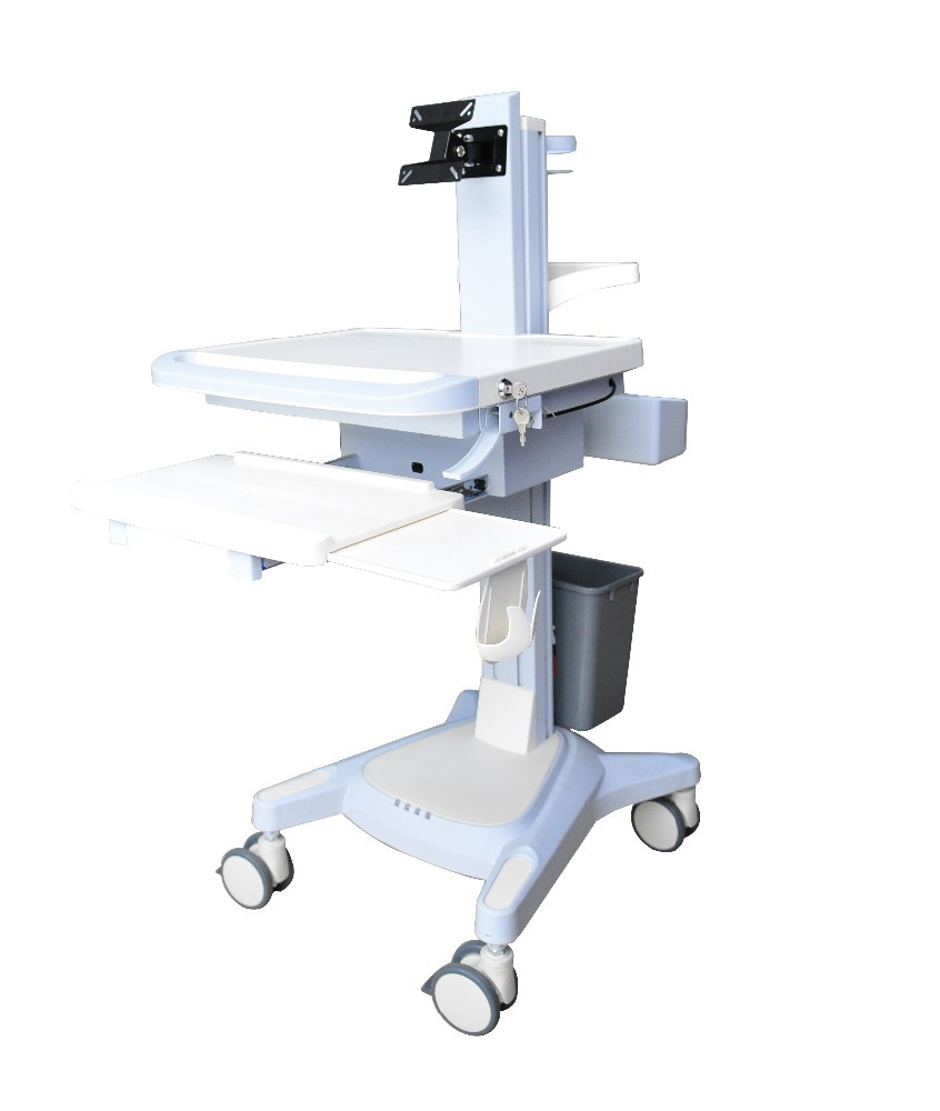 Newest High-Quality Hospital Mobile Medical computer/laptop workstation Trolley /cart