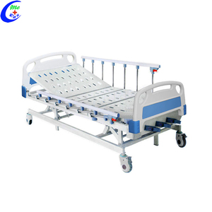 Medical Equipments Metal 3 Crank Manual Hospital Bed, Electrical Hospital Bed