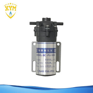 E-NCHE Revesre Osmosis Water Purifier 50GPD Quick-fitting Mini Booster Pump
