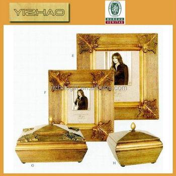 Hot Sale Unfinished Leaf Shaped Unfinished Wooden Picture Frames For