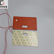 Silicone Rubber Heater Tape/Heating Mat With Magic Sticker
