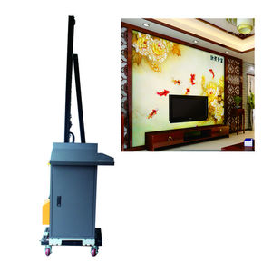 Vertical 3D Plotter inkjet printer Wall Mural Wall Art Printing Machine For Robot Painting On Wall