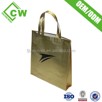 Whole Custom Reusable Promotional Non Woven Bag Tote Bags No Minimum