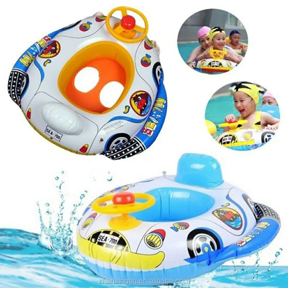 Safety Design Children Water Swimming Inflatable Baby Car Seat