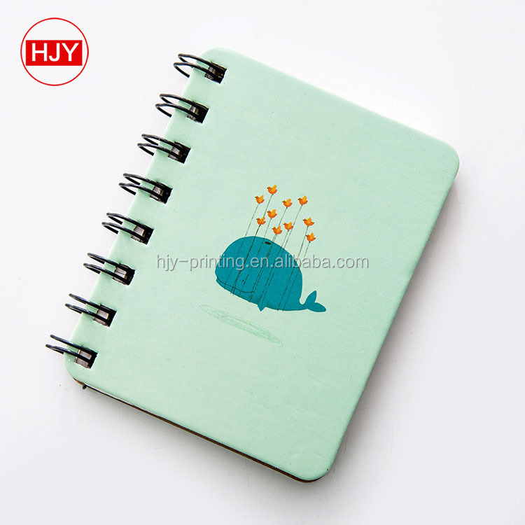 Coil the cartwheel creative notebook, small and pure and fresh notebook, portable travel notebook customized