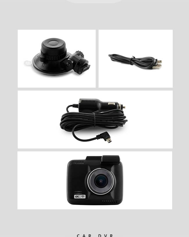 Original manufacturer GS63D car blackbox 4K car video camera