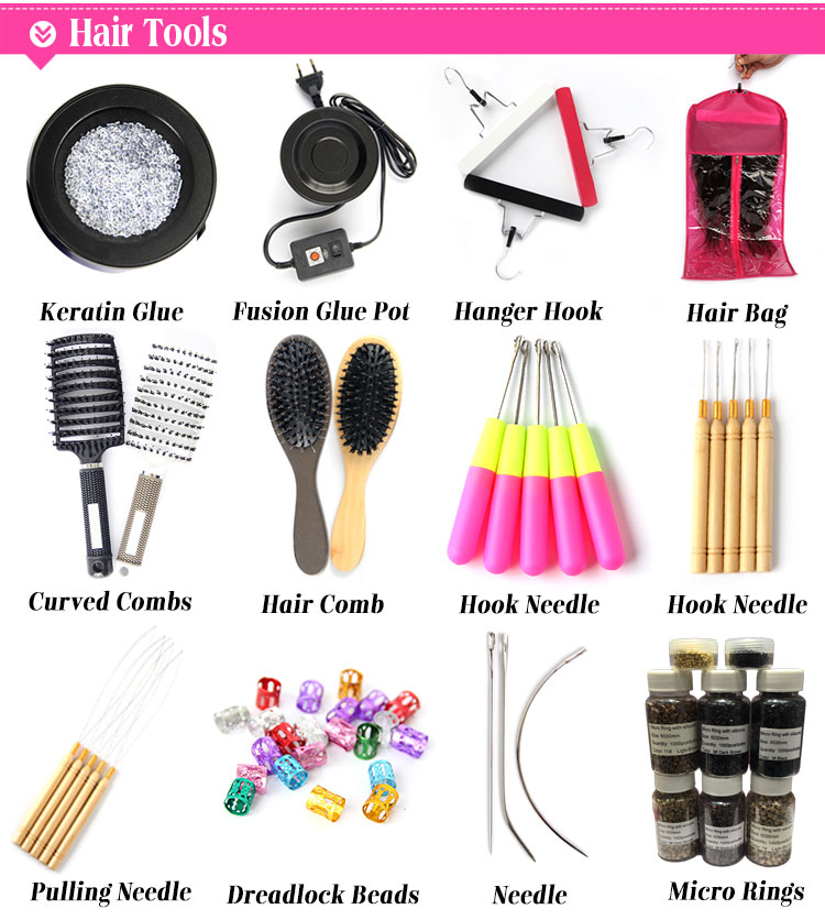 Wig making needle, copper handle wig needles, ventilating needles for lace wigs