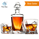 D06 China Wholesale Globe Decanter Glass Globe Whiskey Decanter Set