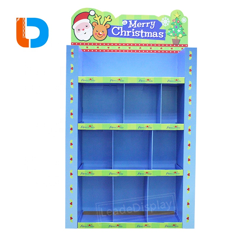 Supermarket Equipment Customized Cardboard Pallet Display for Potato Chips