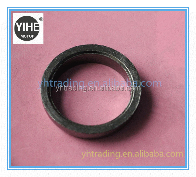 YH-2015112502 motorcycle Muffler Exhaust Ring Gasket with graphite