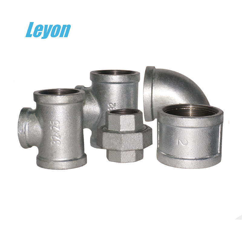 malleable iron fitting threaded bushing galvanised pipe fittings