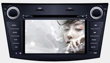 "7"" digital touch screen car gps dvd player new mazda 3 support bluetooth/usb,sd/ipod/tv"