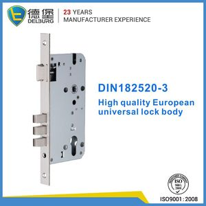 Eco-freindly stainless steel plate 85*45 gate cylinder lock body series