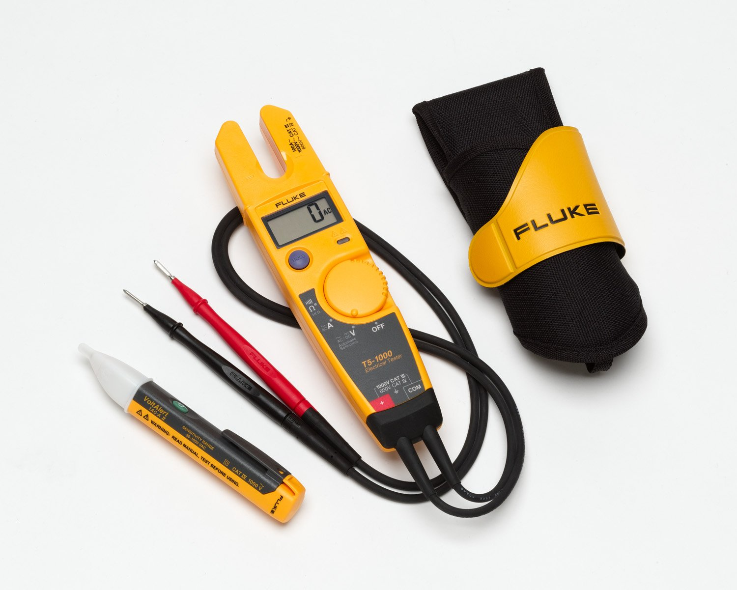 Cheap Fluke 1ac Ii Voltalert Voltage Detector Find Noncontact Ac 600v Electrical Circuit Wire Tester Get Quotations T5 H5 Kit 3 Piece 1000v Usa Custom Holster