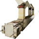 China reliable quality large capacity high efficient En-Masse drag chain scraper conveyor design