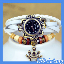 HOGIFT Fashion retro lady bracelet watch cheap bracelet watch