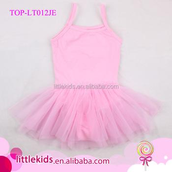 efc2ab8ed Summer Kids Girls Pink Tutu Leotard Fitness Ballet Skirt Dance Wear ...