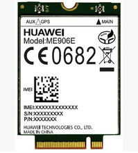 HuaWei ME906E 4G LTE Module 3G Quad-band GPS WCDMA HSPA+ DC NGFF WLAN  Wireless Card