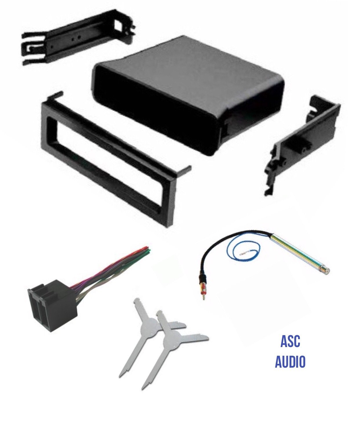 Cheap Vw Dash Kit Find Deals On Line At Alibabacom Radio Fascia Panel Wiring Car Stereo Fitting Get Quotations Asc Audio Pocket Wire Harness Antenna Adapter And